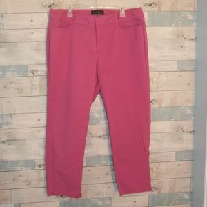 Eloquii Pink Ankle Pants Size 16R - F28